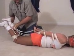 dallas Tied and Gagged Hooters Girl