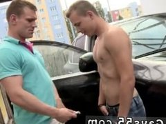 Gay him wet porn movies Anal Fucking At The Public Carwash!