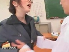 Japanese schoolgirl and teacher bukkake.mp4