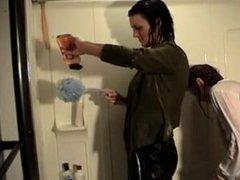 hair wash in shower 2