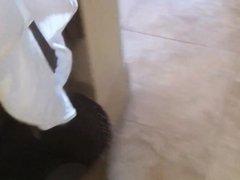 voyeur milf in her hotel room