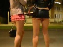 Girls on streets