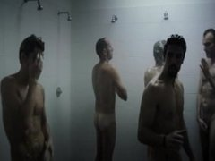 Hot guys naked in italian movie showers scene