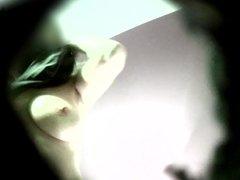 Big tits girl changing voyeur hidden spy cam