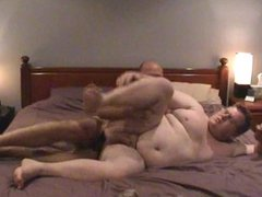 chub daddy fucked by chaser