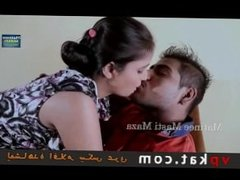 hind hot short young wife making romance