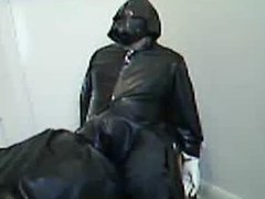 Part 4 of another rubber session with Rochdale Tony with me in the chair.