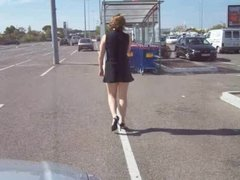 Walking Naked in the car park AP69