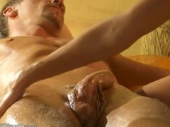 Good Girth Massage for Big Cock