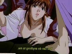 Japanese anime gets szueezed her tits and drilled by tentacles monster