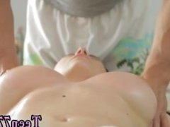 Big teen girl cum shots Big titty Russian dame gets a voluptuous massage