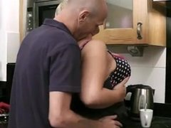 Husband Caught Cheating In The Kitchen - Sexy69Cam.com