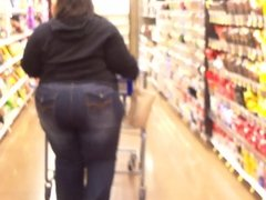BBW Stands There And Lets Me Film That Big Ass!!