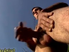 Hairy straight young men jerking off Pissing In The Wild With Duke