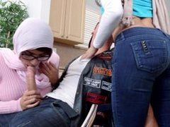Julianna Vega & Mia Khalifa stepmom and daughter