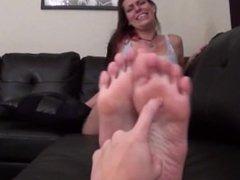 Tickling Big Feet POV