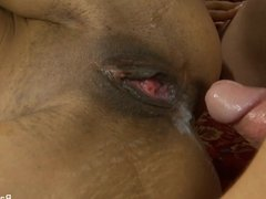 Exotic beauty Sadie Santana craves a creampie