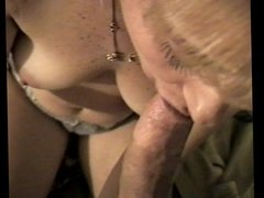 Amateur milf loves sucking my cock