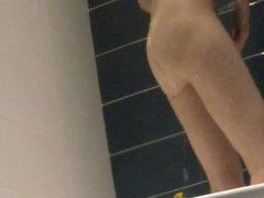 wife's friend voyeur in the shower