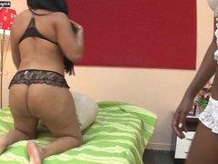 Brazilian Lesbian Ass Licking LU