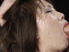 PMV Japanese Facefucking cumshot compilation by Dimecum
