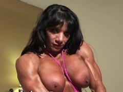 Marina Lopez and her huge titties