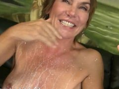 Older woman extreme rough blowjob