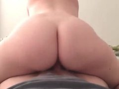 Freckle chick creampied