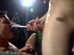Gay sex hairy boy pissing Damon Archer and Jimmy Roman Poolside Wet Fuck