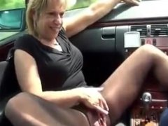 Pissing in the car