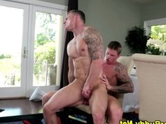 Horny amateur rides cock
