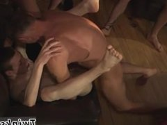 Gay men fucking with cut pubic hair James Takes His Cum Shower!