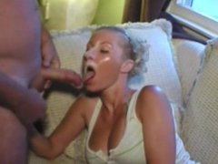 MILF facial video
