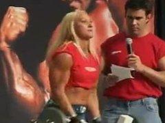 Female Biceps Contest