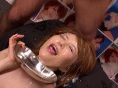 Hot japanese bukkake teen scene