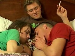 Hairy handsome sexy guys porn gays videos They keep their Marlboros lit,