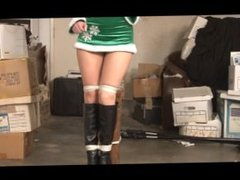 Niki Lee Young's Christmas Surprise - Poletied and Microfoam Tapegagged