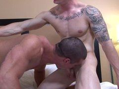 Active Duty Brad's First Anal EVER By Markie