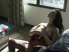 Rosy Rocket Smoking Fetish Masturbation