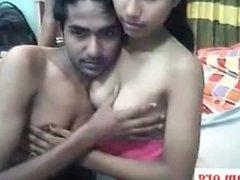 Desi College Couple Hot Sex On Webcam-- 24Cam.org