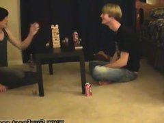 Uncut blond hairy chested gay sex Trace and William get together with