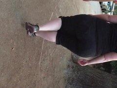Redhead BBW HUGE Ass (original clip)