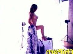 Mari Cielo Pajares Sexy Making Of Interviu