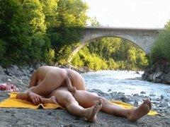 Public Fuck On The River
