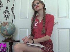 Upskirt Schoolgirl Manipulation GODDESS KYAA