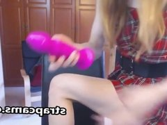 Teen Solo Masturbation On Webcam