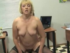 Blackmail and sex with classy teacher