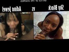 Sky Black vs Adina Jewel