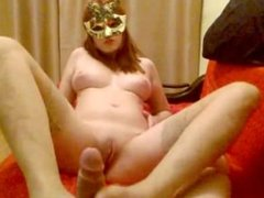 footjob and blowjob by Otillia sweet girl