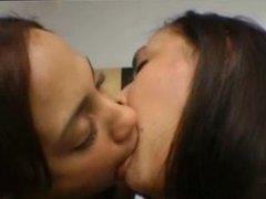Brazilian Lesbians Kissing 11
